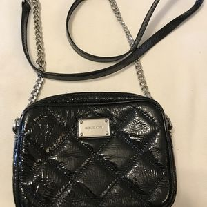 Michael kors patent leather crossbody